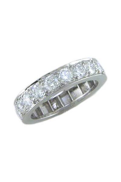 Oscar Heyman - Bead Set Guard Ring