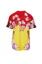 Valentino - Multicolor Logo Floral T-Shirt