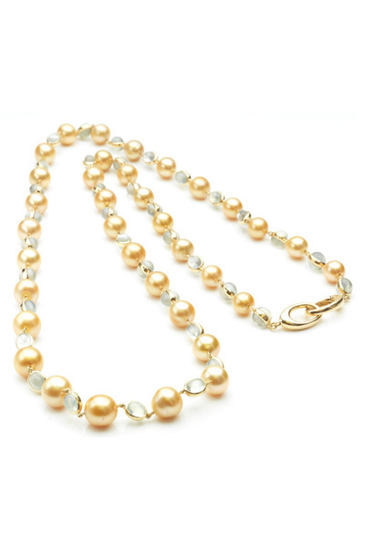 Assael - Golden South Sea Pearl Necklace