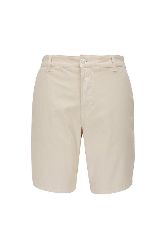 Hudson Clothing Pale Pink Stretch Cotton Shorts
