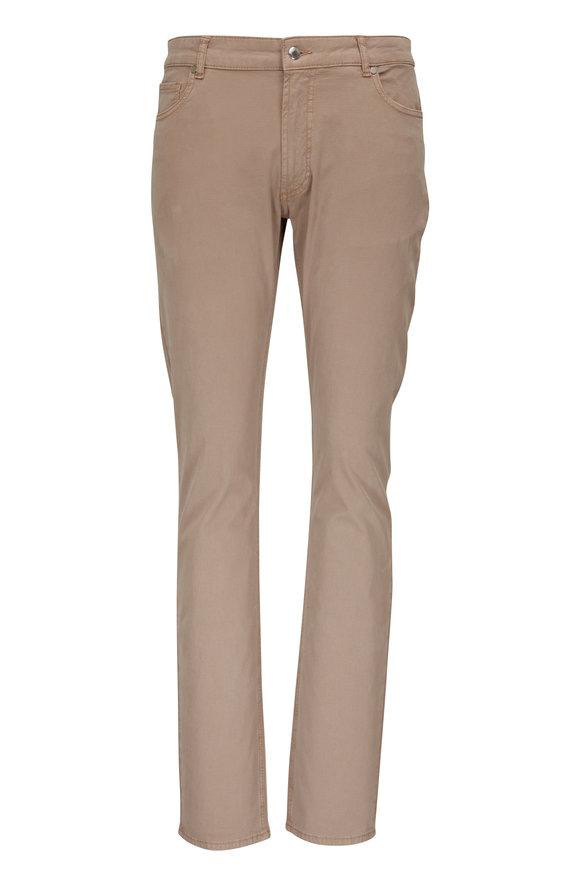Peter Millar Wayfare Khaki Five Pocket Pant