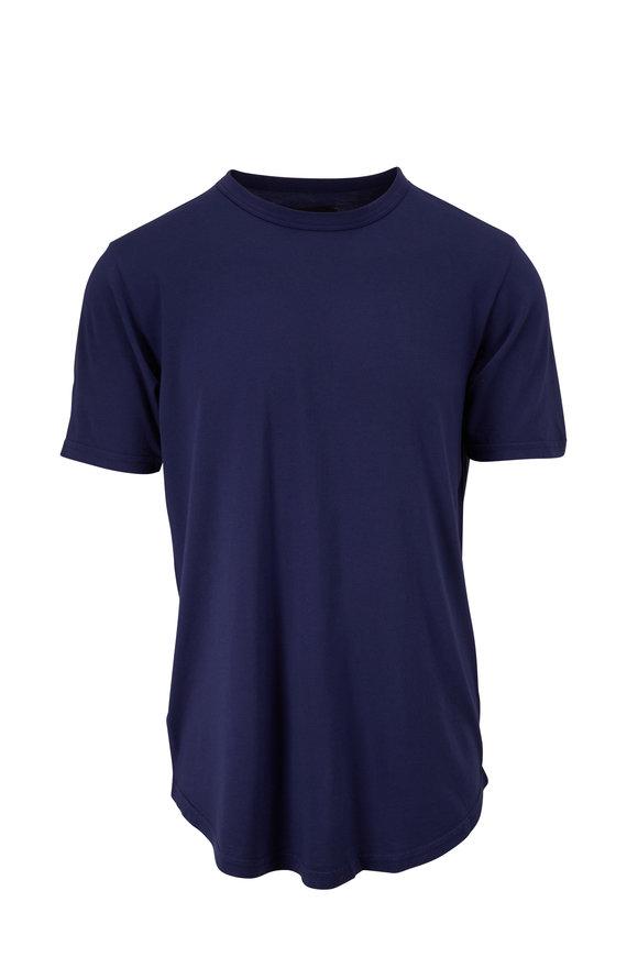 Good Life Scallop Blue Supima Short Sleeve T-Shirt