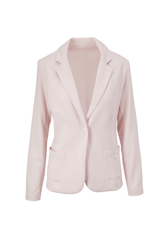 Majestic Petal Pink French Terry Blazer