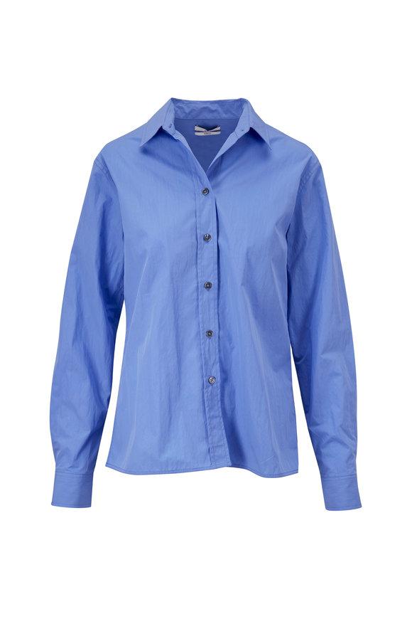 CO Collection Essentials Oxford Blue Slim Button Down Shirt