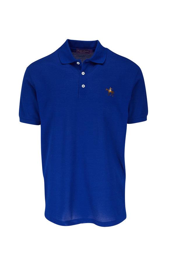 Ralph Lauren Royal Blue Short Sleeve Polo