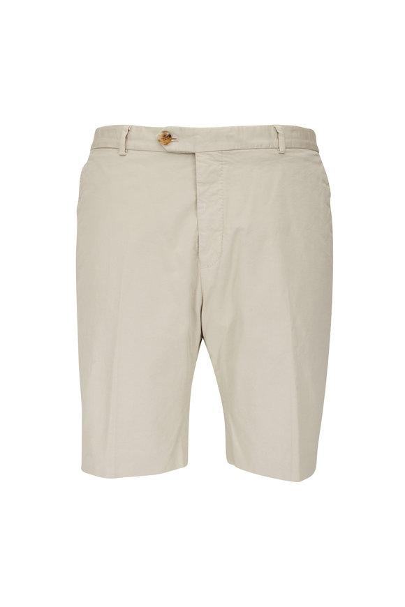 Ralph Lauren Stone Chino Slim Fit Shorts