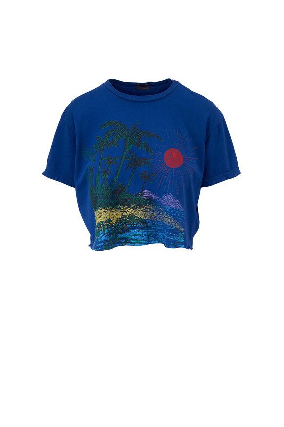 Mother Denim The Slouch Cutoff Bbi Beachside T-Shirt
