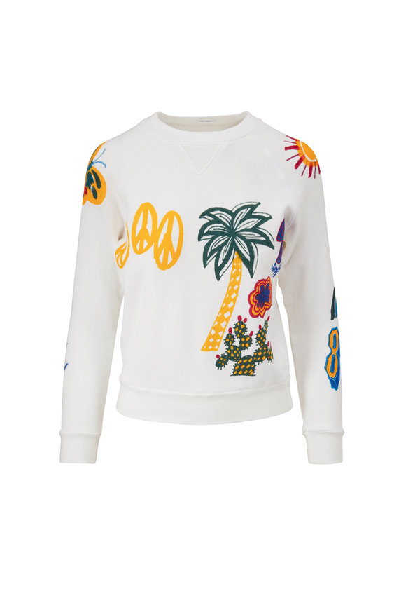 Mother Denim The Square Sunshiney Day Sweatshirt
