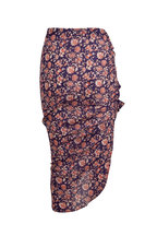 Veronica Beard - Hazel Purple Cover-Up Skirt