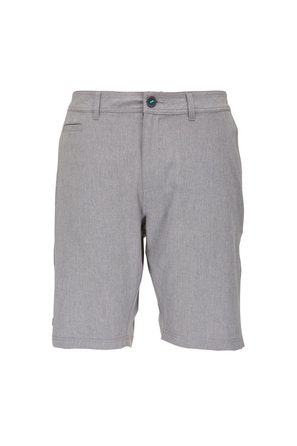 Linksoul Boardwalker Gray Four Way Stretch Shorts