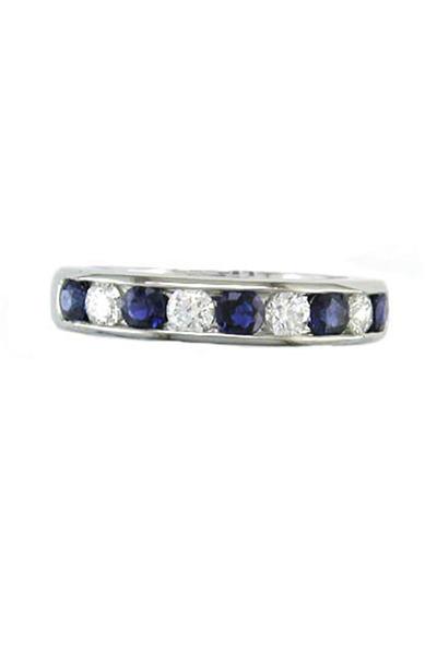 Oscar Heyman - Diamond Sapphire Ring