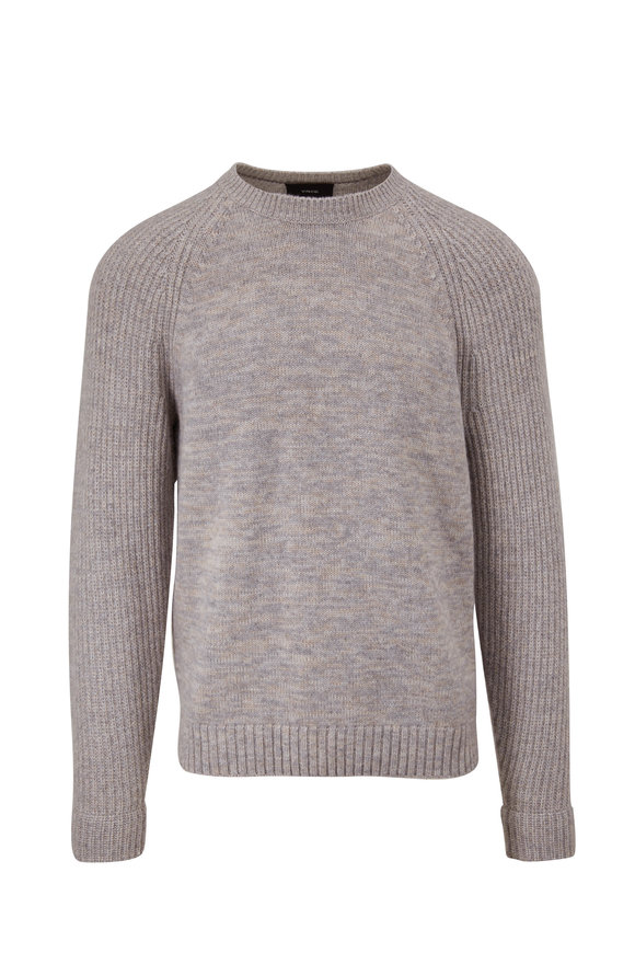 Vince Heather Gray & Heather Runyon Marled Pullover