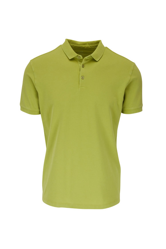 Fradi Lime Piqué Short Sleeve Polo