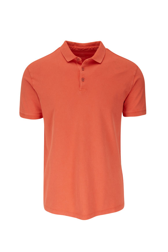 Fradi Orange Piqué Short Sleeve Polo