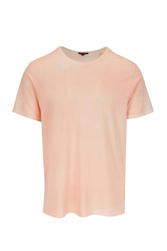 PYA Patrick Assaraf Nectarine Pima Cotton Short Sleeve T-Shirt