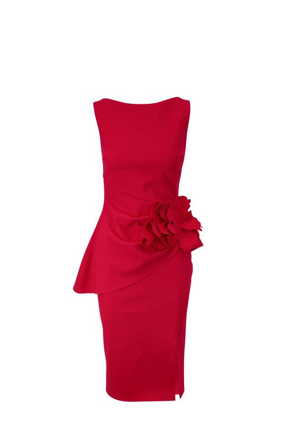 Chiara Boni La Petite Robe Oksana Red Sleeveless Dress