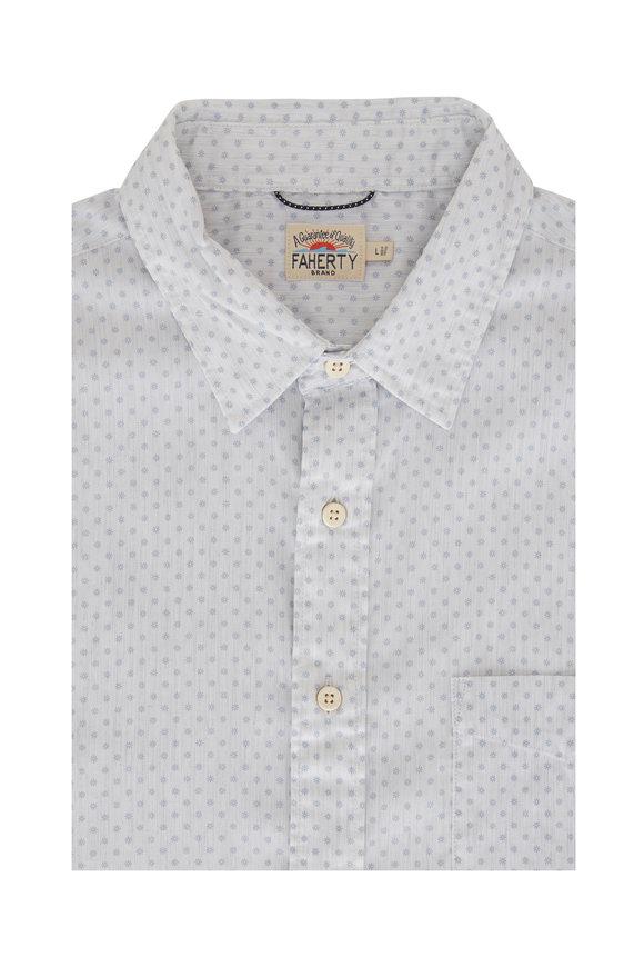 Faherty Brand Movement Mist Sunburst Shirt