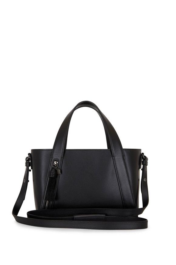 Akris Little Alexa Black Leather Crossbody Bag