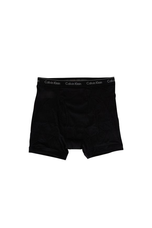 Calvin Klein Three Pack Black Boxer Briefs