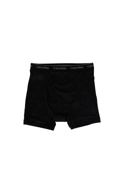 Calvin Klein - Three Pack Black Boxer Briefs