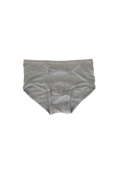 Calvin Klein - Four Pack Gray Briefs