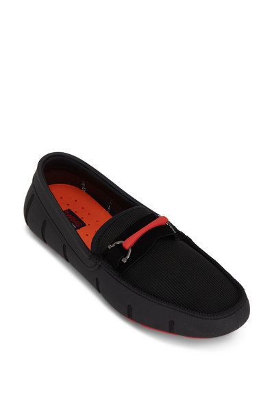 Swims - The Sporty Bit Black Loafer
