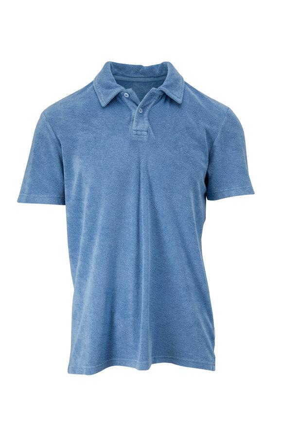 Orlebar Brown Doran Light Blue Polo