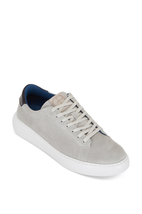 G Brown Puff 804 Gray Suede Sneaker