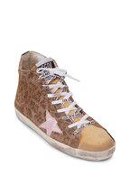 Golden Goose - Francy Leopard Suede High-Top Sneaker