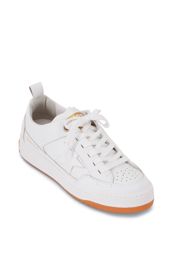 Golden Goose Yeah! White Leather Low Top Sneaker