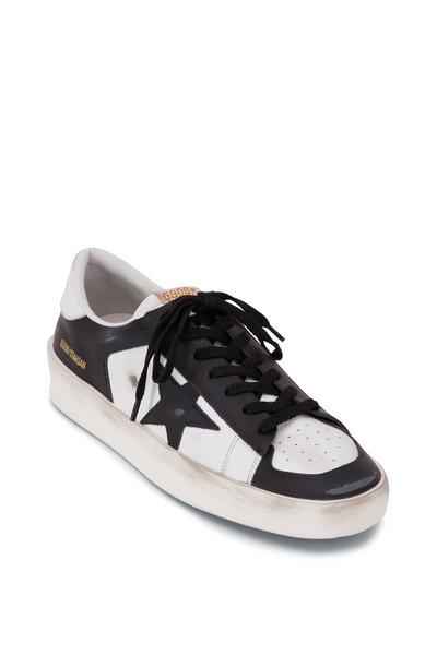 Golden Goose - Stardan White & Black Low Top Sneaker