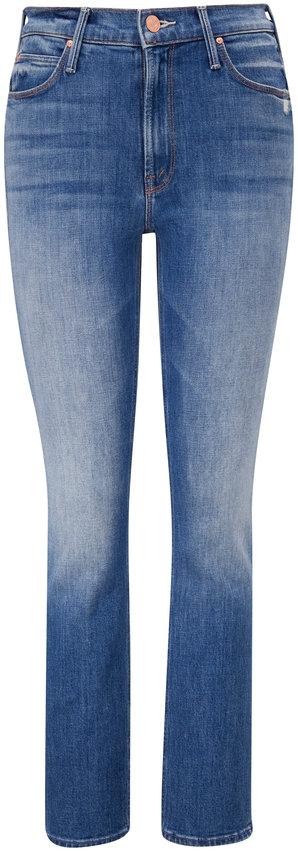 Mother Denim The Mid-Rise Dazzler Ankle Cut & Paste Jean