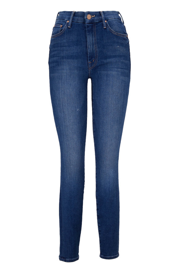 Mother Denim The Looker Balls Of Yarn High Waisted Jean