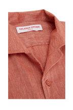 Orlebar Brown - Hibbert Vintage Rose Linen Shirt
