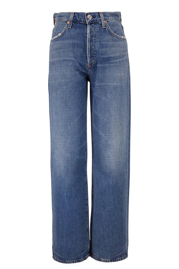 Citizens of Humanity Flavie Medium Wash Trouser Jean