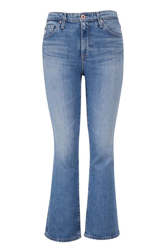 AG Jodi High-Rise Slim Flare Crop Jean