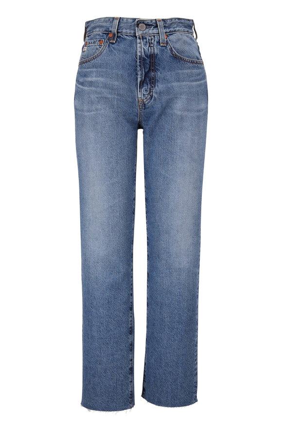 AG Alexxis High-Rise Vintage Straight Jean