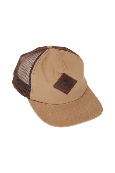 Faherty Brand - Timber Washed Logo Trucker Hat