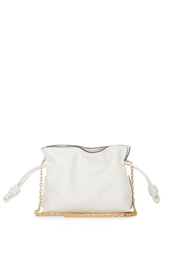 Loewe Flamenco Soft White Nano Clutch