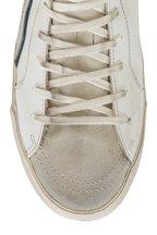 Golden Goose - Slide White Leather High-Top Sneaker