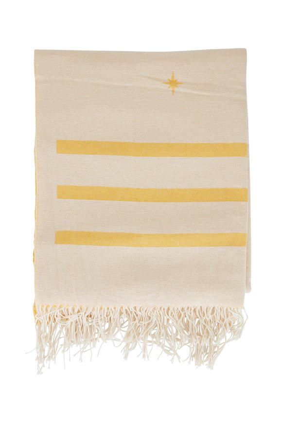 Faherty Brand Golden Star Cotton Blanket