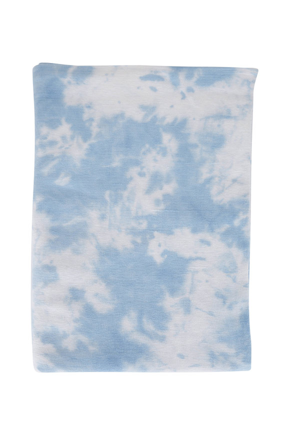 Faherty Brand Pacific Mist Adirondack Tie-Dye Blanket