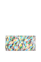 Fendi - Multicolor FF Fish Eye Print Chain Wallet