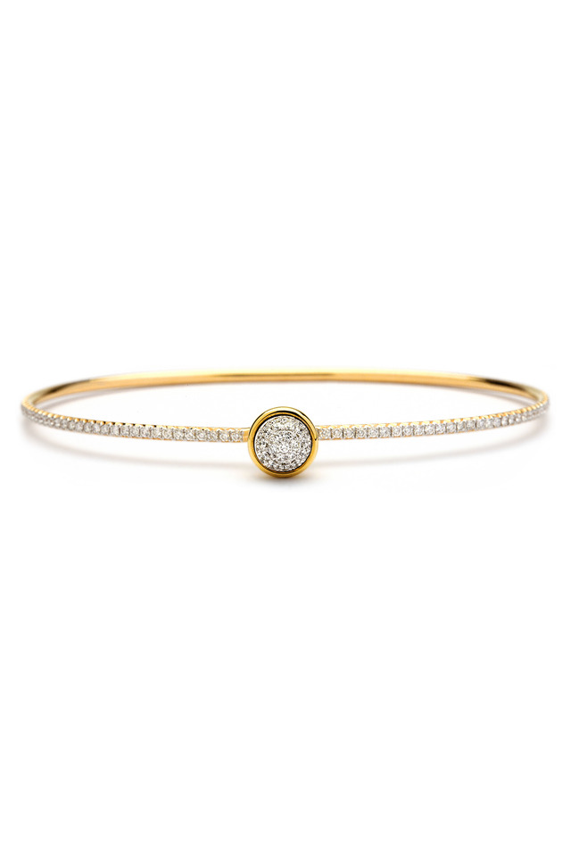 Gold Diamond Baubles Bracelet