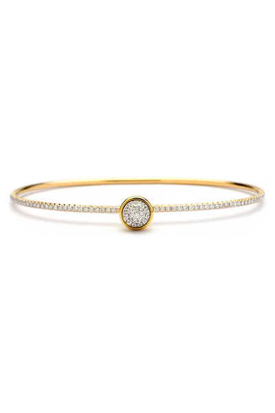 Syna - Gold Diamond Baubles Bracelet
