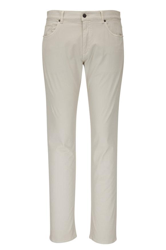 Ermenegildo Zegna JS01 Stone Stretch Cotton Five Pocket Pant