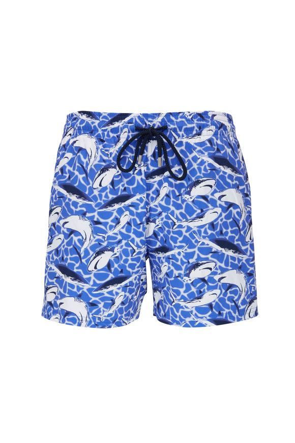 Vilebrequin Moorise Sea Blue Swim Trunks