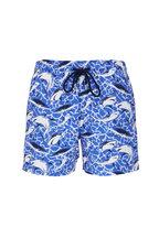 Vilebrequin - Moorise Sea Blue Swim Trunks