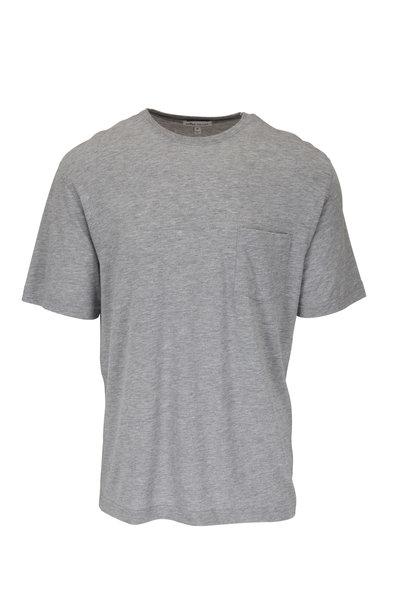 Peter Millar - Seaside Light Gray Short Sleeve T-Shirt