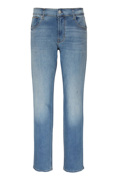 Hudson Clothing - Blake Villa Mid-Rise Slim Straight Jean